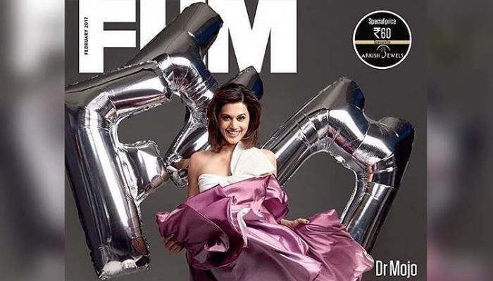 Magazine Covers,fhm,Taapsee Pannu