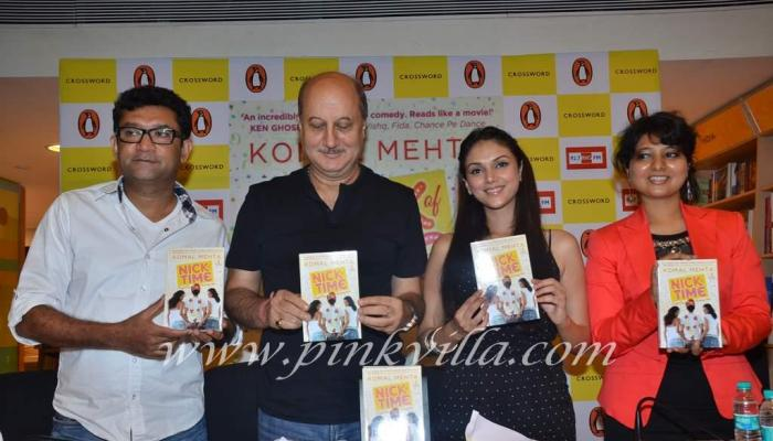 Photos,anupam kher,Aditi Rao,nick of time,komal mehta