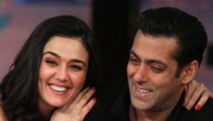 Photos,salman khan,preity zinta,ishkq in paris