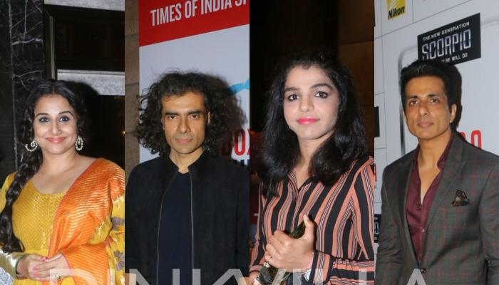 Photos,vidya balan,sonu sood,imtiaz ali,Sakshi Malik,Times of India Sports Award,TOISA