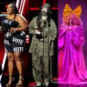 Billboard Music Awards 2020: Lizzo's political statement, Billie Eilish masks up, Sia's giant bows & more