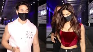Tiger Shroff & Disha Patani: Former kisses his family goodbye post dinner with the actress