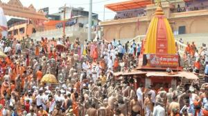KUMBH MELA 2021: WHAT SOCIAL DISTANCING? Thousands violate COVID-19 safety regulations