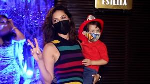 Sunny Leone's kids do an adorable thing; Find out
