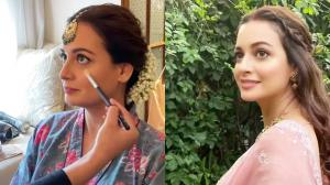 A feast for your eyes FIRST look at Dia Mirza's bridal makeup