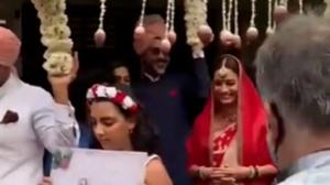 Dia Mirza walked down the aisle with Vaibhav Rekhi's daughter Samaira; WATCH this flashback Friday video