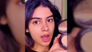 A dash of WOW! Got 10 minutes to get ready? Khushi Kapoor has got your back;WATCH her beauty tutorial