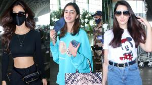 AIRPORT FASHION FACEOFF  : Disha Patani, Ananya Panday or Nora Fatehi! Whose latest travel look did you like ?