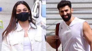 Kiara Advani & Aditya Roy Kapur raise the temperature as they make stylish appearances in the city