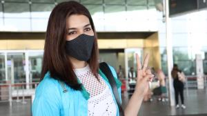 Airport is the new runway for Kriti Sanon and Tara Sutaria as they go glam
