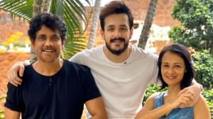 Akhil Akkineni: Most Eligible Bachelor actor's photos with Nagarjuna and Amala Akkineni show their close bond