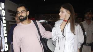 When Virat Kohli turned protective husband for Anushka Sharma as they were spotted at the airport