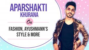 Aparshakti Khurana on how he'd style Ayushmann; Shahid's style; Walking the ramp with Radhika Madan