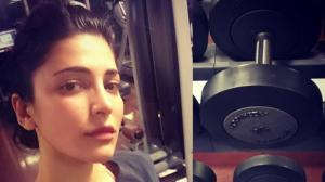 Shruti Haasan's WORKOUT photos will be the apt motivation ...