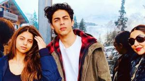 Aryan Khan: PHOTOS of the star kid with his family prove t...