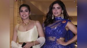 Back when Bhumi Pednekar and her sister graced a Diwali party and gave us fashion goals