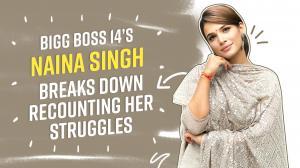 Bigg Boss 14: Naina Singh breaks down while sharing her struggles, questions Eijaz's friendship