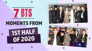 BTS: 7 Best Moments from 1st half of 2020