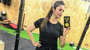 Divyanka Tripathi's workout pics will motivate you to shed...