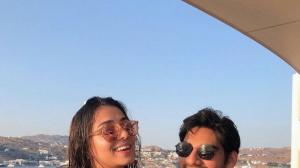 Suniel Shetty's son Ahan Shetty and Tania Shroff's these PHOTOS prove love is in the air for them
