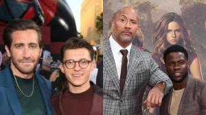 From Jake Gyllenhaal and Tom Holland to Dwayne Johnson and...
