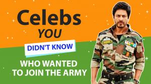 From Shah Rukh Khan to Akshay Kumar: Watch this video to find out which celebs wanted to join the Army