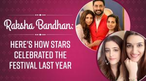 From the Bachchan family to Kriti Sanon: Here's how stars celebrated Raksha Bandhan last year
