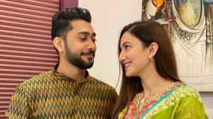 Gauahar Khan, Zaid Darbar announce marriage: Gaza can't take their eyes off each other in THESE romantic pics