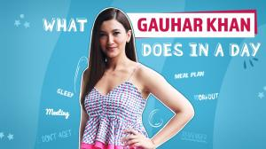 Gauahar Khan reveals EVERYTHING she does in a day