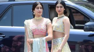 Janhvi Kapoor and Khushi Kapoor: 5 Lehenga ideas to steal ...