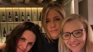 Friends stars Jennifer Aniston, Courteney Cox and Lisa Kudrow's reunion moments that sent fans into a frenzy