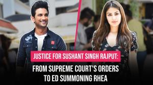 Justice for Sushant Singh Rajput: From Supreme Court's order to ED summoning Rhea Chakraborty
