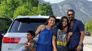 Kajol's adorable PHOTOS with Nysa and Yug Devgn prove that the actor is a fun mom