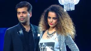 Kangana turned showstopper for Karan Johar; the director turned Designer for Vero Moda's Marquee collection