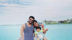 PHOTOS: Karan Patel and Ankita Bhargava's precious moments with their little munchkin Mehr is all things love