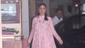 Kareena Kapoor Khan gives festive vibes in pink ethnic wear