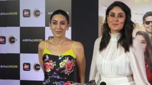 Kareena Kapoor Khan & Karisma Kapoor's sibling style files on point at Mentalhood screening