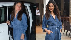Kareena Kapoor Khan and Rakul Preet Singh almost wore the same denim jumpsuit; See THROWBACK pics