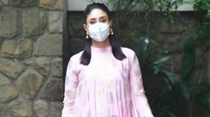 Kareena Kapoor Khan opts a breezy pink outfit as she is papped in the city; Check out her LATEST photos