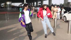 When Deepika Padukone shook a leg with Kartik Aaryan at the airport sporting a jacket worth more than a lakh
