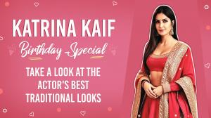 Katrina Kaif Birthday Special: Take a look at the actor's best traditional looks