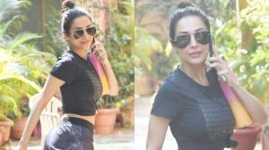 PHOTOS: Malaika Arora is all set to sweat it out as she ge...