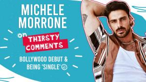 Michele Morrone replies to THIRSTY COMMENTS and answers many more interesting questions