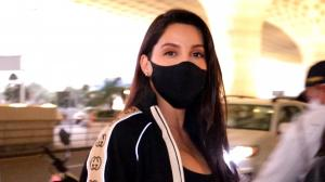 Nora Fatehi brings BACK this trend with her latest airport looks; Watch this video to know more