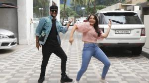 Nora Fatehi and Guru Randhawa groove together on the singer's new single Naach Meri Rani