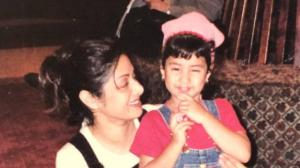 PHOTOS: Janhvi Kapoor's childhood THROWBACK moments with S...