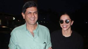 PHOTOS: When Deepika Padukone and her father Prakash Padukone enjoyed a fun banter at the airport