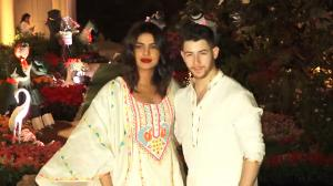 When Nick Jonas opted for an extravagant accessory as he attended a Holi party with Priyanka Chopra Jonas