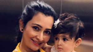 Radhika Pandit's THESE awwdorable moments with daughter Ay...