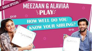 Rakhi Special: How well does Meezaan Jaaferi & Alaviaa Jaaferi know each other?